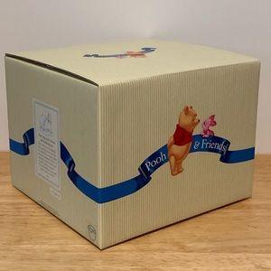 "Disney Winnie the Pooh 4.5"" Porcelain Figure NIB"